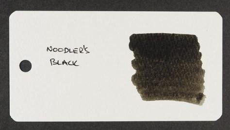 Noodler's Black - Word Card
