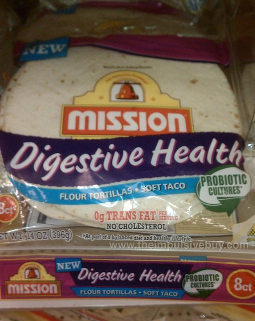 Mission Digestive Health Flour Tortillas