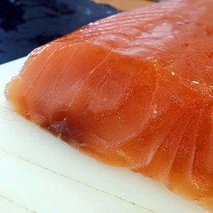 Marinado de salmón con cítricos