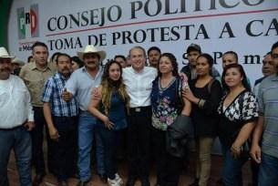 Juan Manuel Carreras, consejo político, PRI