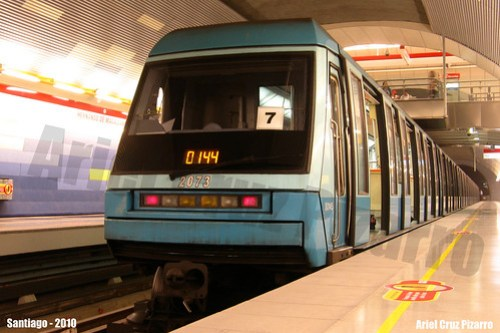 Metro de Santiago - Alstom NS93 - Hernando de Magallanes (Línea 1)