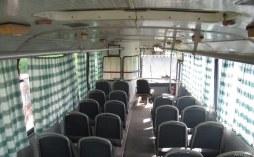пассажирский салон ЛАЗ-695Н