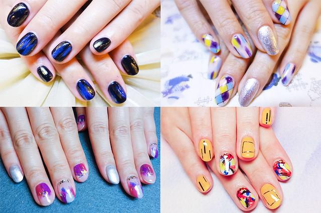 ♥ 夏日的隨性時尚!日系風格漆彩凝膠指甲 3
