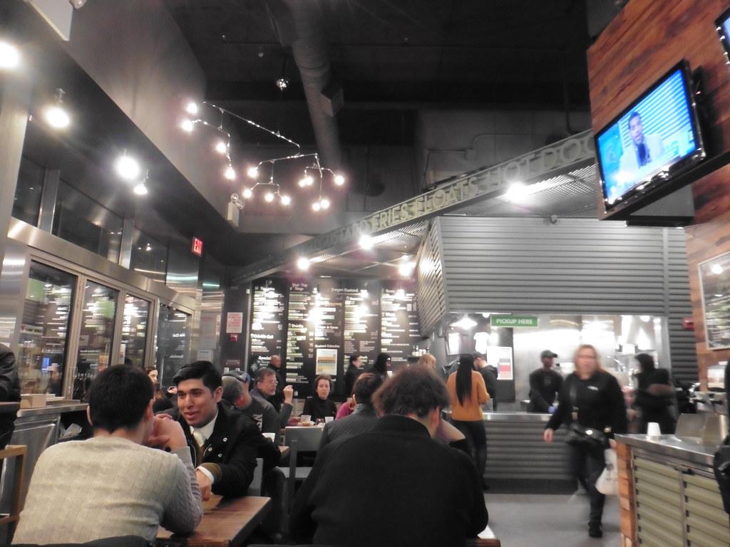 Dónde comer hamburguesas y gastronomía en Nueva York (Estados Unidos) - Hamburguesería Shake Shack.