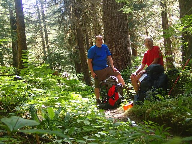 Taking A Break On The Trail