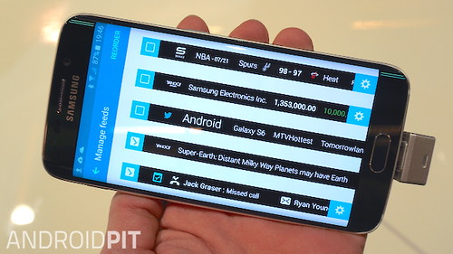 Galaxy S6 edge Information Stream 2