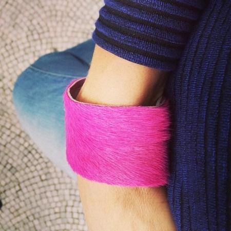 De nieuwe armband van #bluette is eindelijk in mijn bezit (heel historie trouwens, binnenkort op de blog) ... met dank aan @handmade.mieke