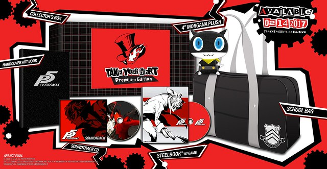 ペルソナ5「Take Your Heart collector's edition」