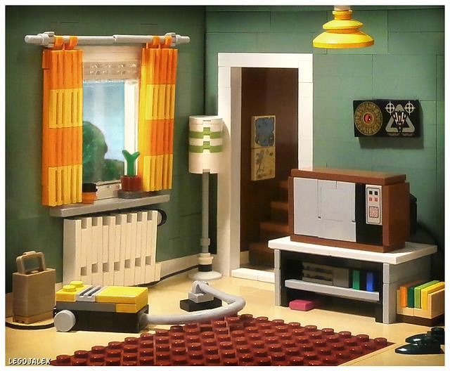 70s Show Living Room