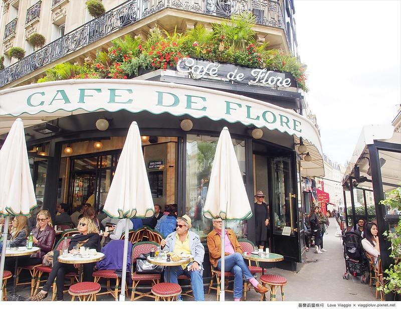 paris,咖啡館,塞納河左岸,巴黎餐廳,花神咖啡館 @薇樂莉 Love Viaggio | 旅行.生活.攝影