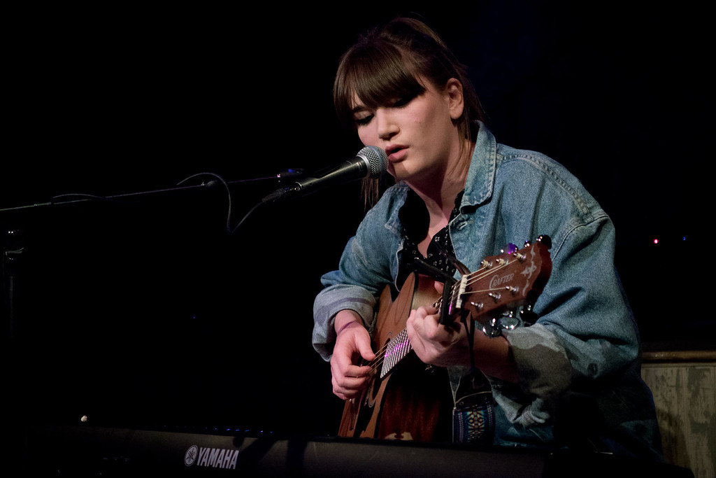 Emma Hughes supporting Saint Saviour at Wilton's Music Hall
