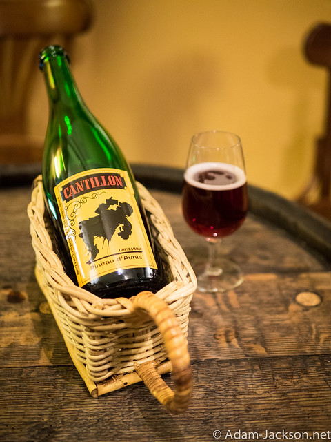 Spent the day at Cantillon in Brussels