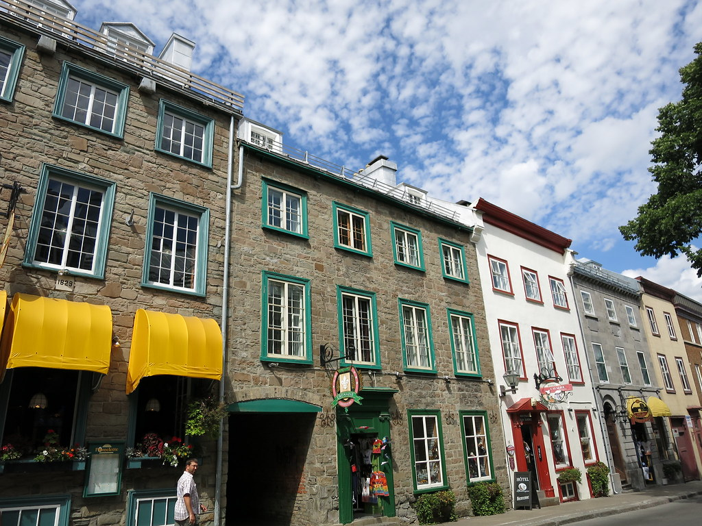 Old Quebec city architecture