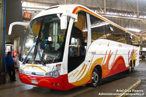 Buses Evans - Santiago - Maxibus Lince 3.65 / Mercedes Benz (DFCJ94)