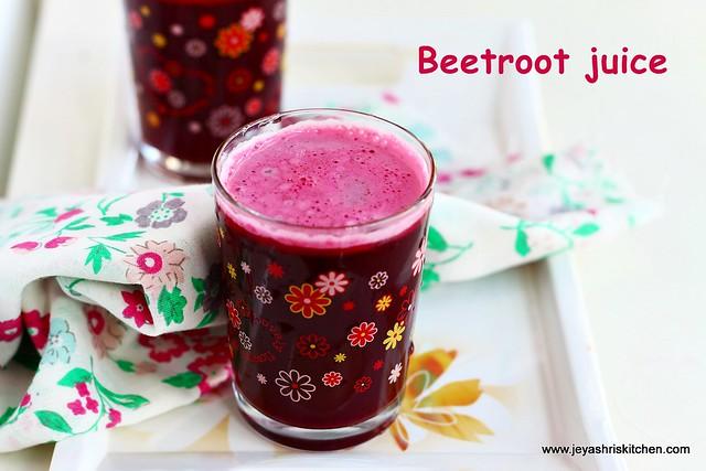 beetroot + juice