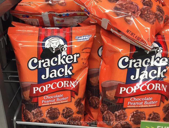 Cracker Jack Chocolate Peanut Butter Popcorn