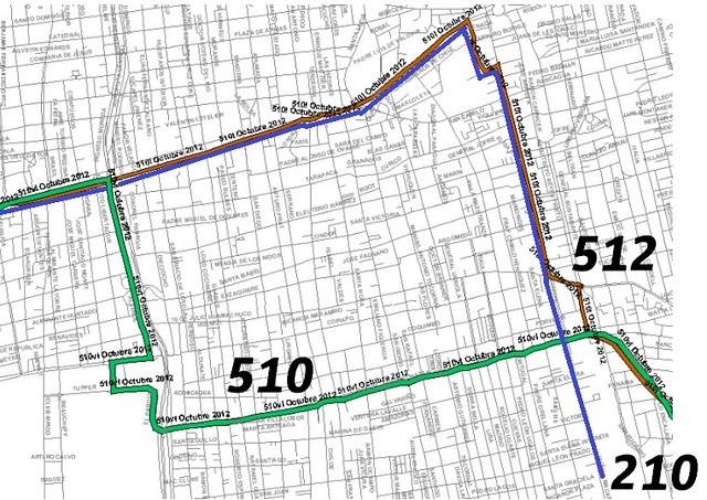Mapa 510 512 210