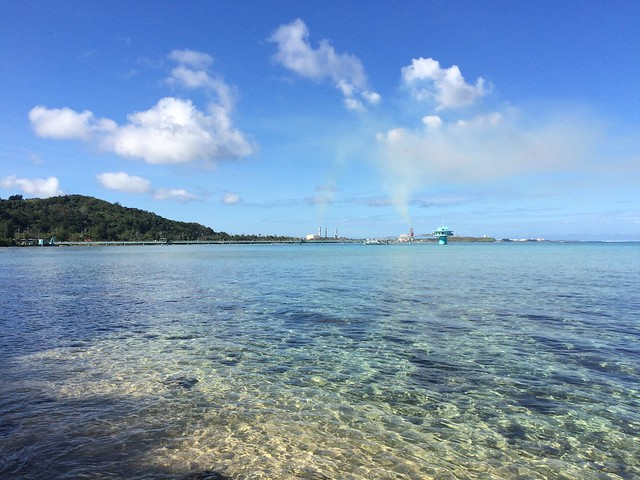 Picture from Asan Beach, Guam