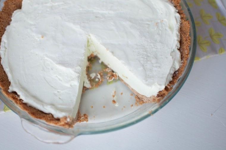 Lime Yogurt Pie 6