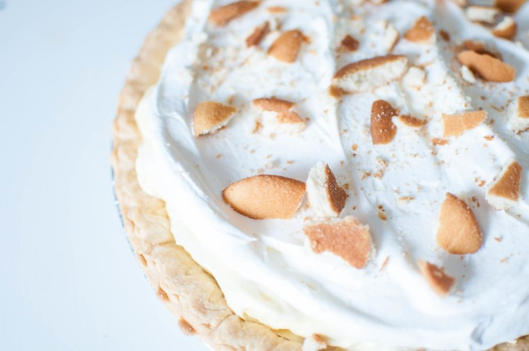 Banana Pudding Pie 1