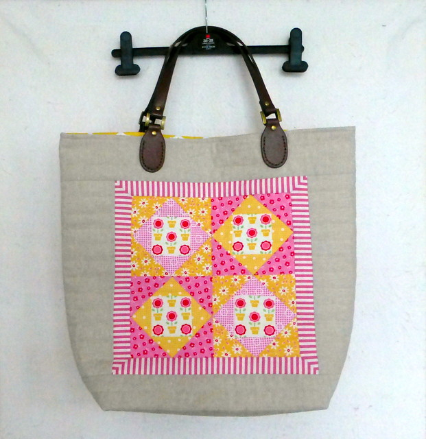 Summer Flowers Bag (Popular Patchwork Bag special May16)