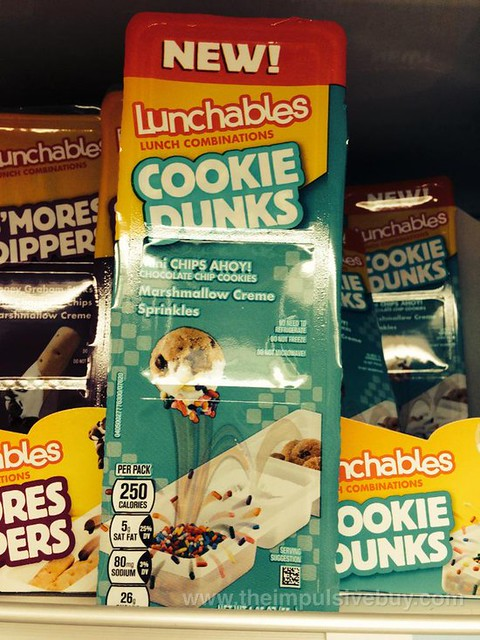 Lunchables Cookie Dunks