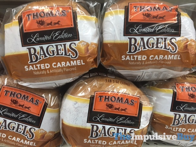 Thomas' Limited Edition Salted Caramel Bagels