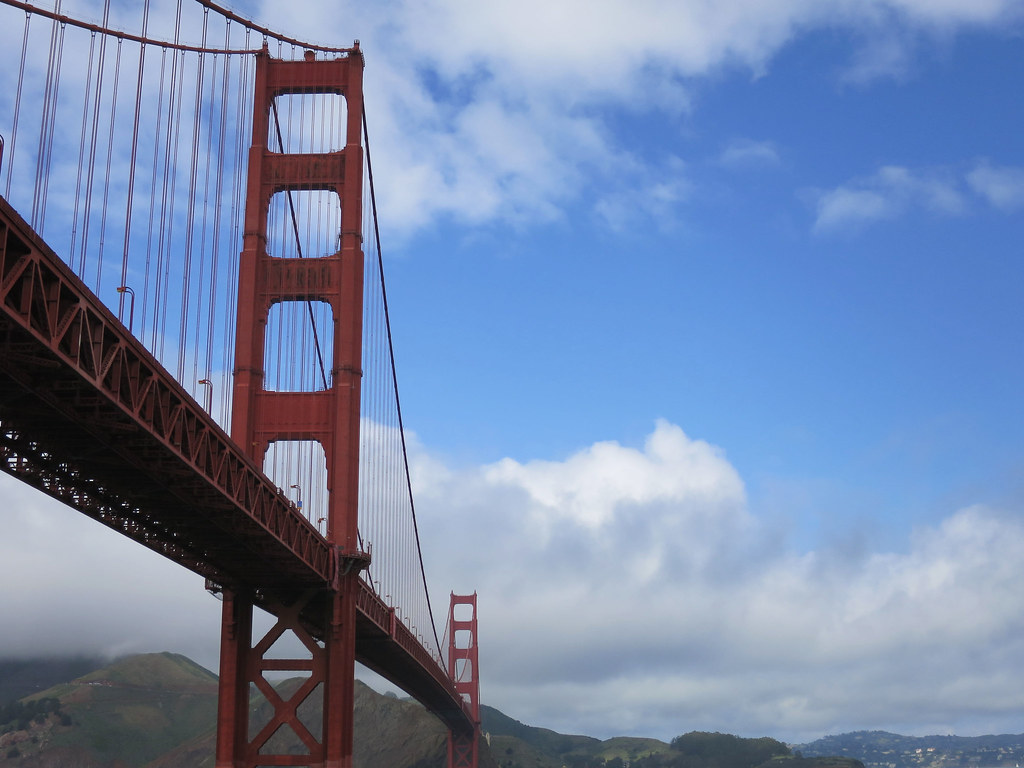 Golden Gate Bridge view from Fort Point