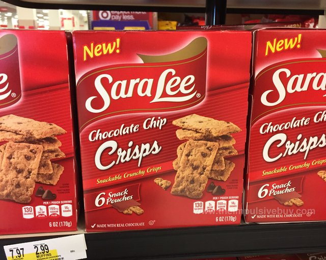 Sara Lee Chocolate Chip Crisps