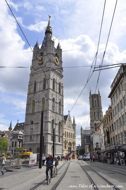 GENT - Belfort van Gent