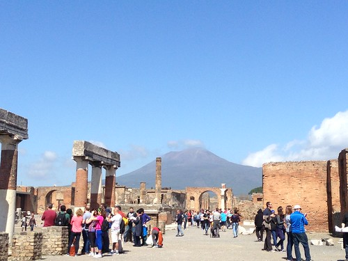 Pompeya & Vesubio. Italia