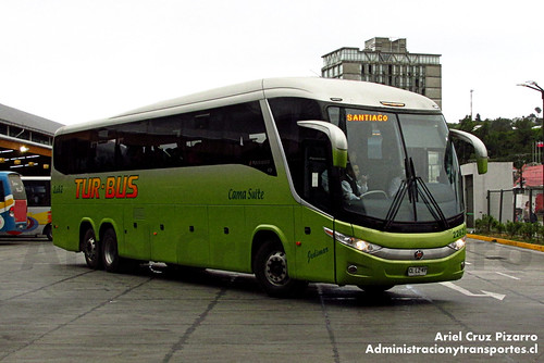 Tur Bus - Puerto Montt - Marcopolo Paradiso 1200 / Mercedes Benz (CLLZ47)