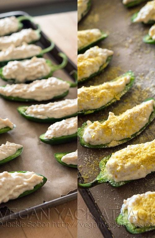 creamy quinoa jalapeno poppers