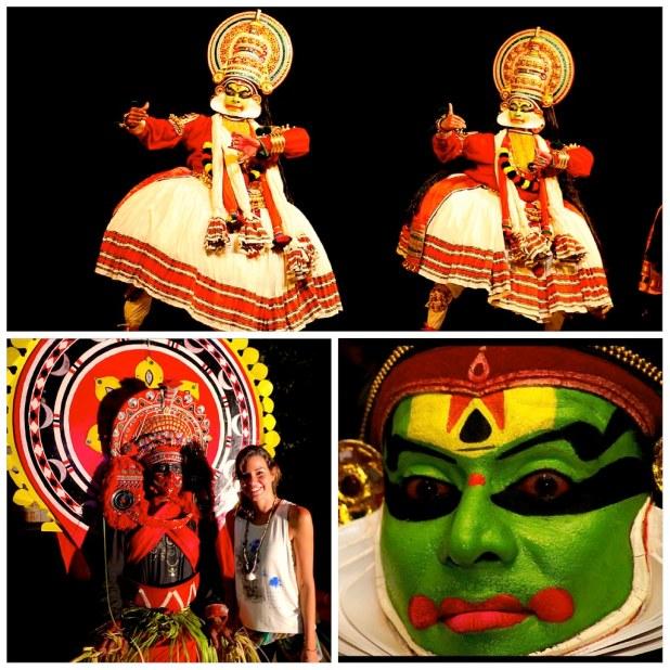 Kathakali, la danza tradicional del estado de Kerala