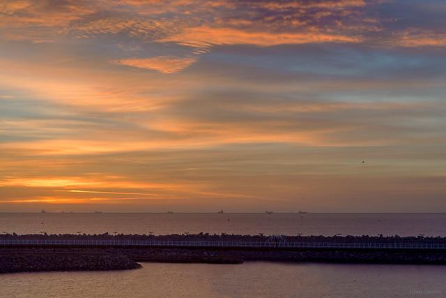 Sunrise in Hartlepool