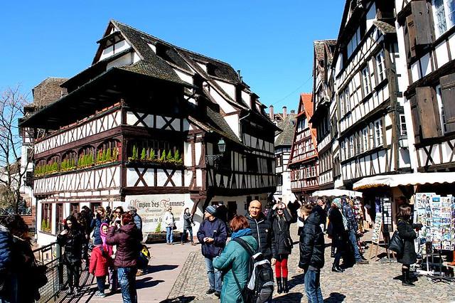 Que ver en Estrasburgo. Petit France de Estrasburgo