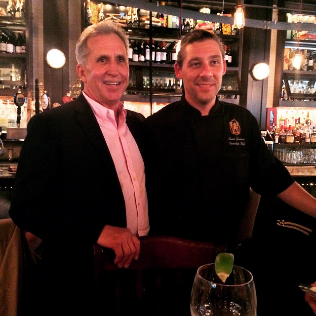 JM Group Owner, Jack Morrison, and Executive Chef, Christian Graciano