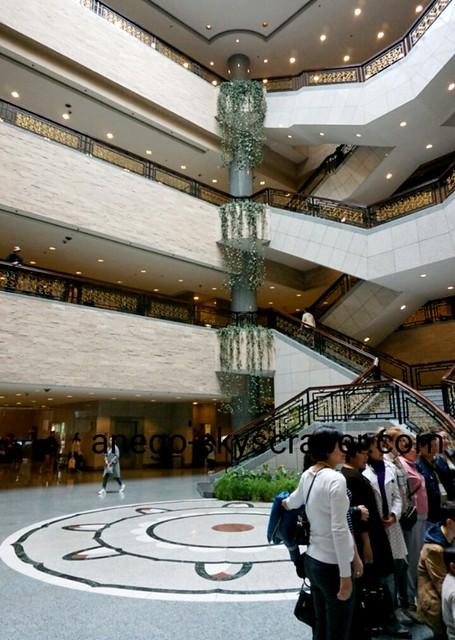 上海博物館でみんな記念撮影