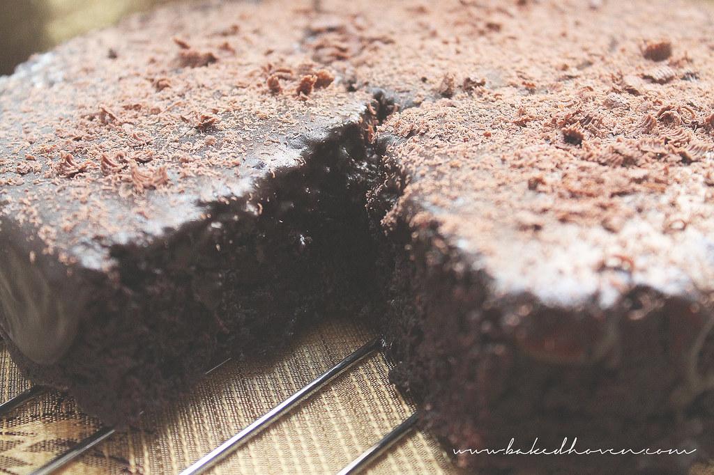 Chocolate Mayonnaise Cake2
