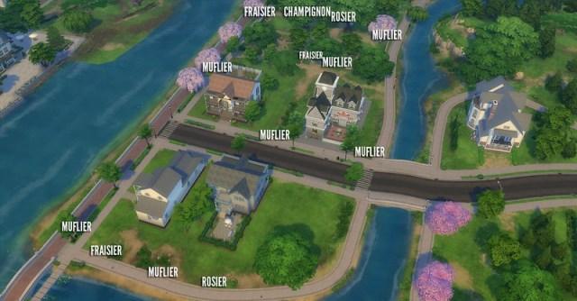 Jardinage Sims 4