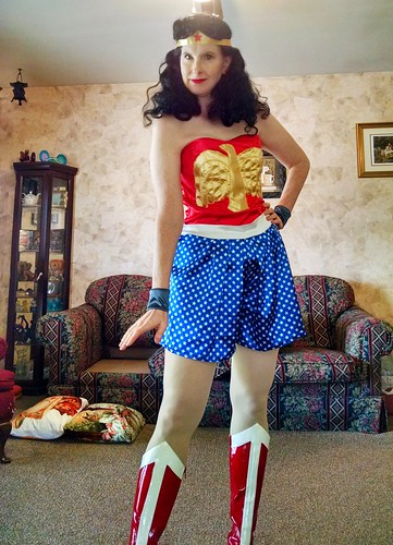 1941 Wonder Woman costume
