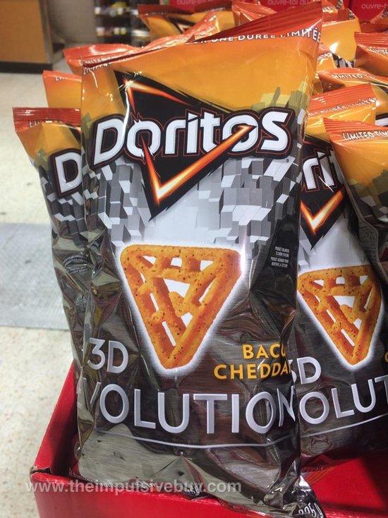 Doritos Limited Time Only Bacon Cheddar Doritos 3D