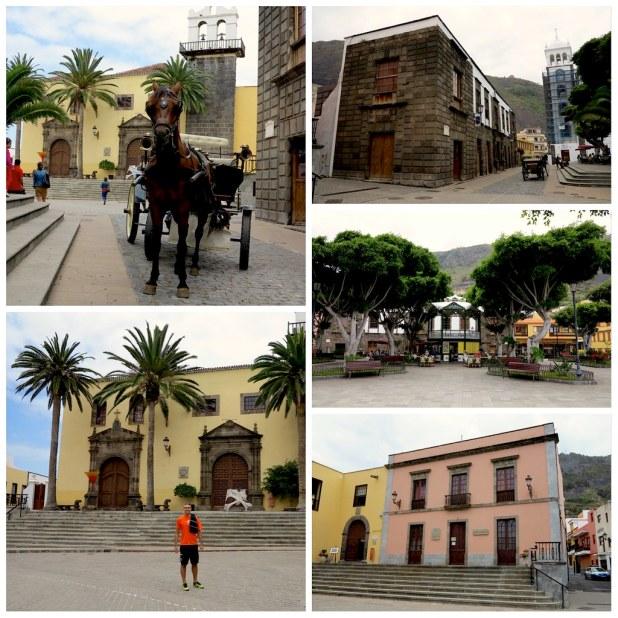 Plaza de la Libertad en Garachico
