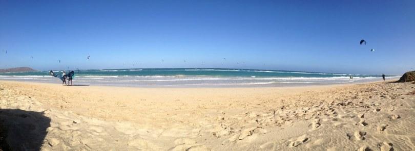 kitesurf au Cap Vert UCPA plage