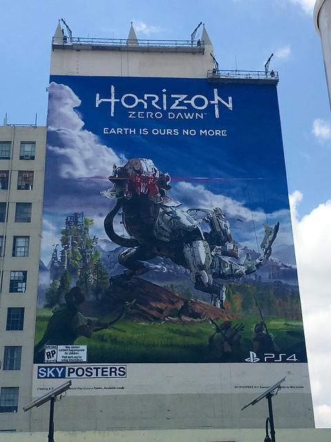 horizon 巨大ポスター