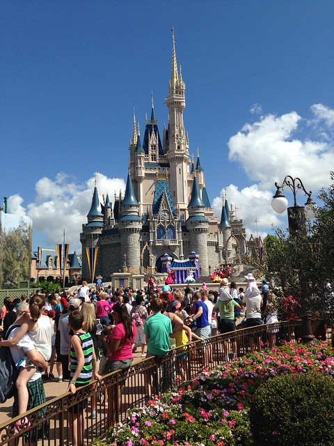 Cinderella's Castle, Magic Kingdom WDW