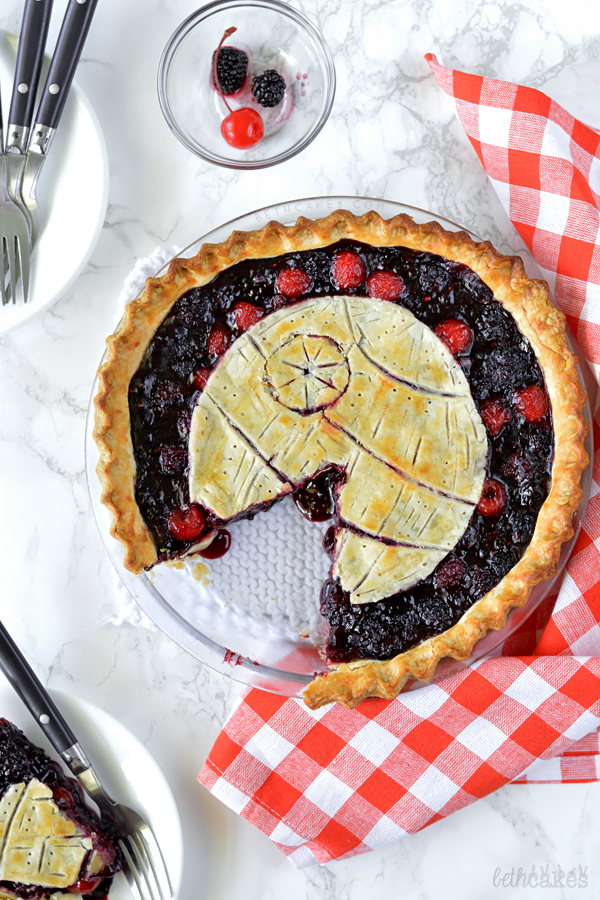Death Star Pie! - bethcakes.com