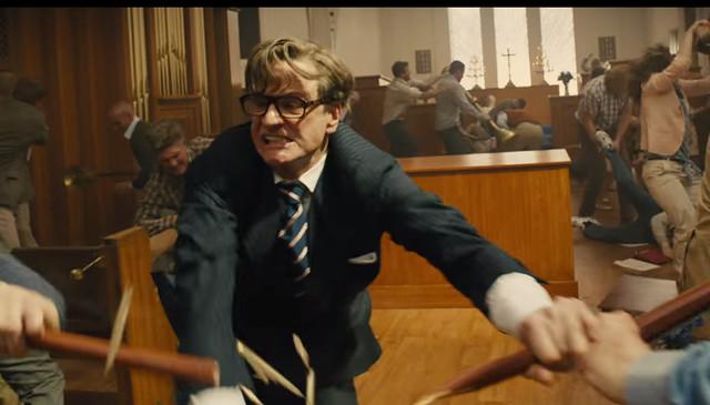 Colin Firth Fighting scene