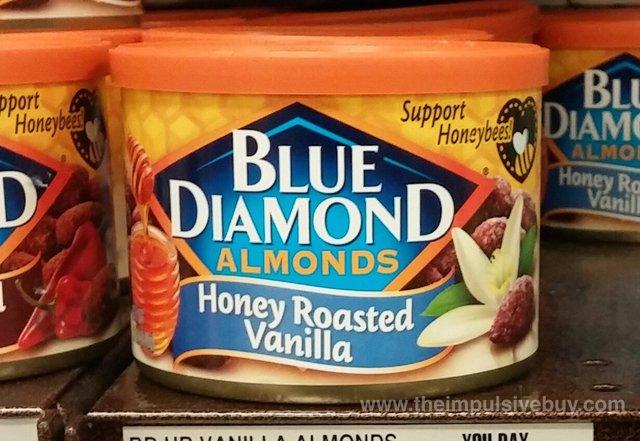 Blue Diamond Honey Roasted Vanilla Almonds
