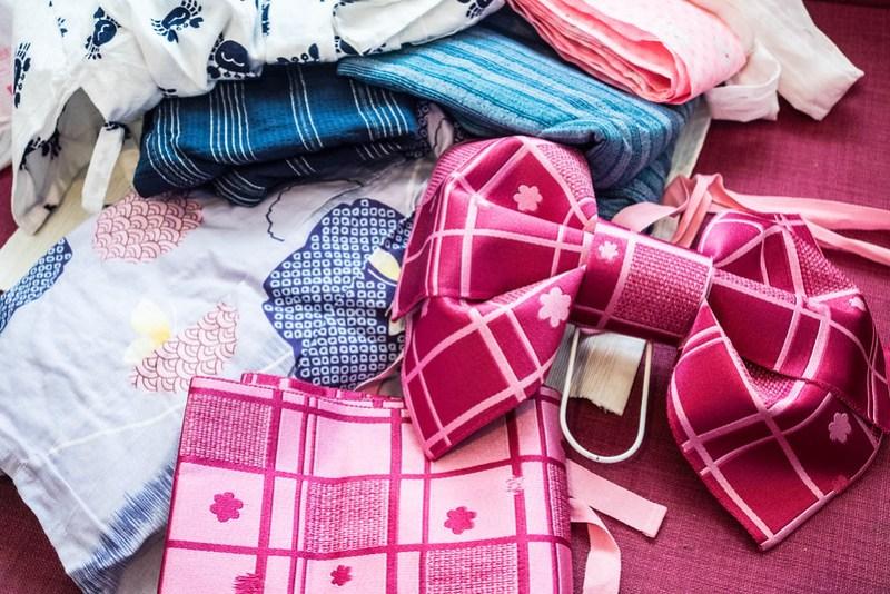 Regalos y souvenirs de Japón: kit de yukata